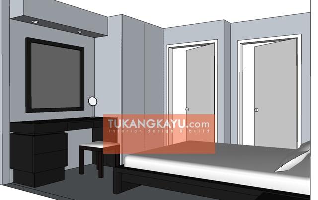 Desain Vira - Casa blanka - kamar tidur 1