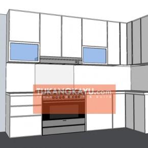 Desain Vira - revisi kitchen set