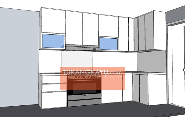 Desain Vira - revisi kitchen set