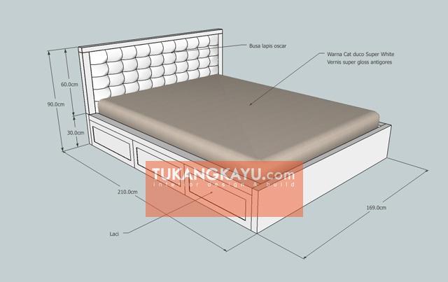Desain Vira - tempat tidur