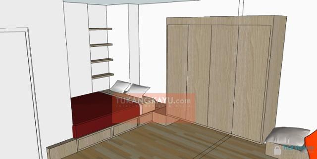 desain - green bay apartemen 3